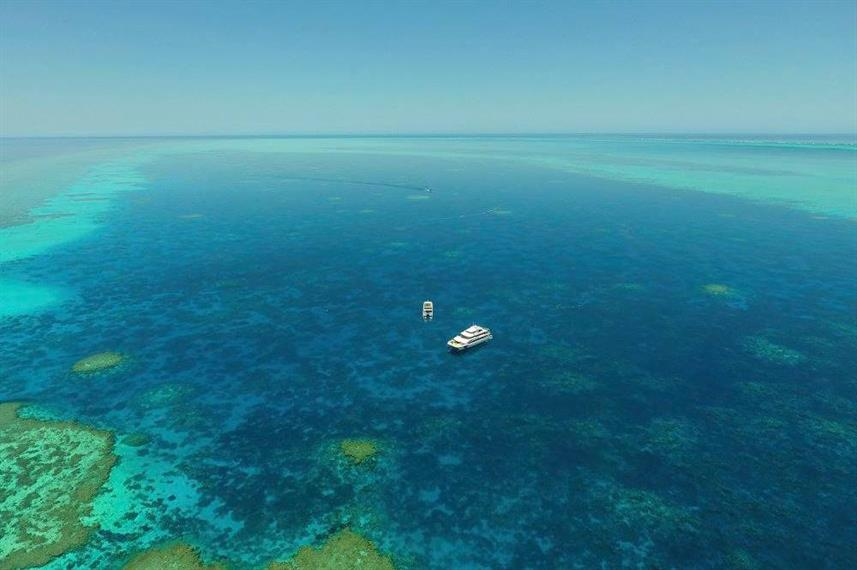 Odyssey at the Rowley Shoals Western Australia