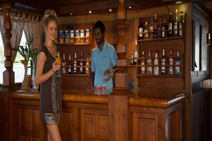 Bar - Princess Haleema Liveaboard Maldives