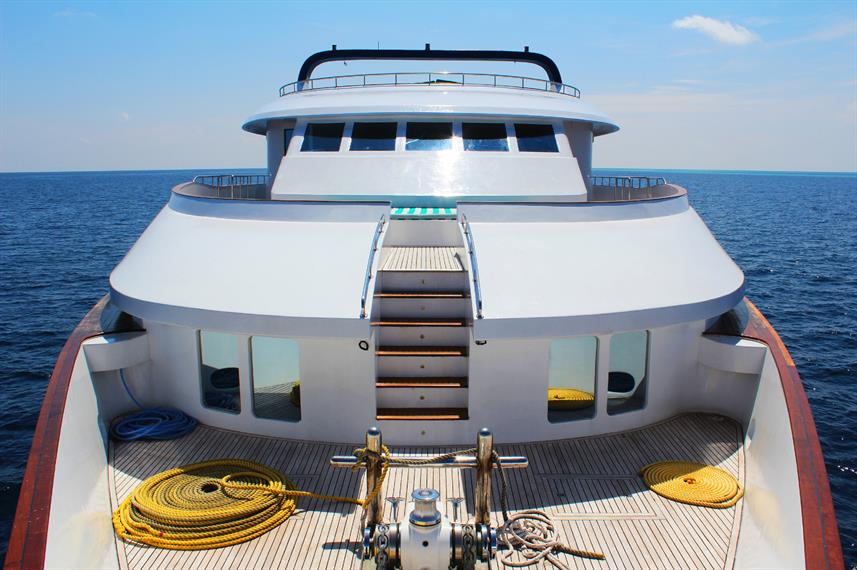 Honors Legacy Yacht Deck