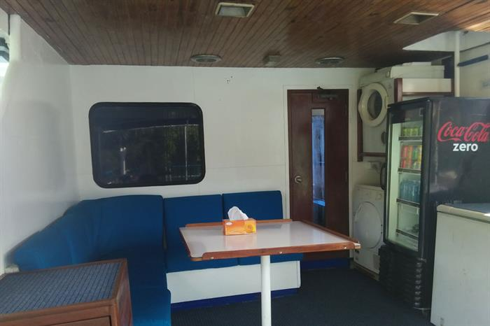Bar and Lounge Area - Spirit of Niugini