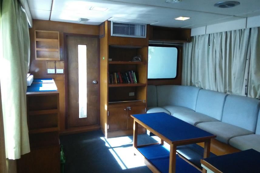 Salon interior - Spirit of Niugini