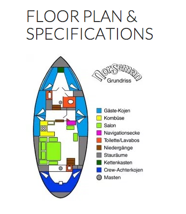 Deck Plan - Norseman Liveaboard floorplan