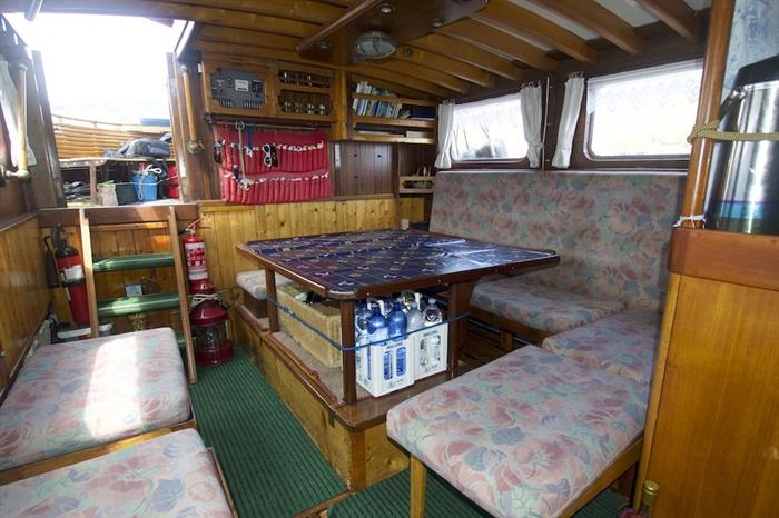 Indoor Salon - Norseman Liveaboard