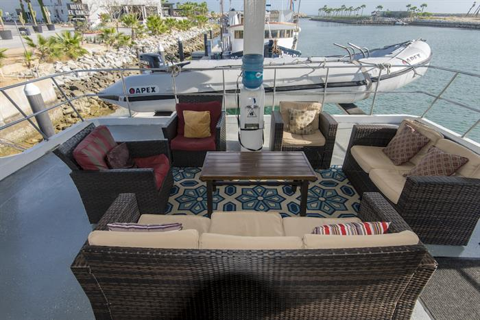 Outdoor Lounge - Rocio del Mar