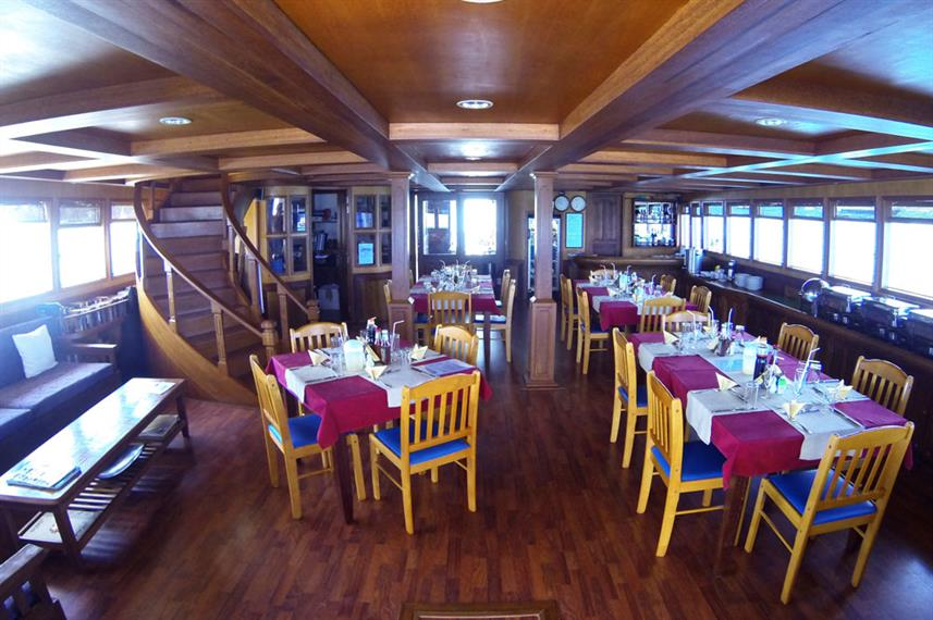 Dining Room - Sachika Live Aboard