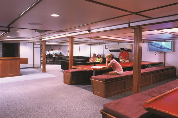 Spacious Lounge Area - Taka Liveaboard