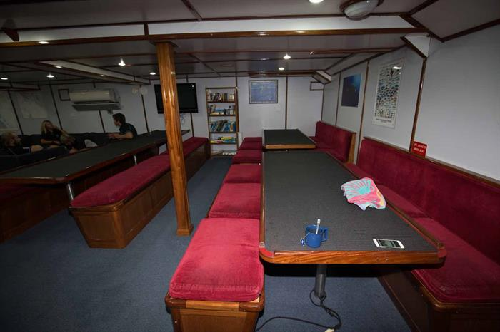 Indoor Saloon - Taka Liveaboard