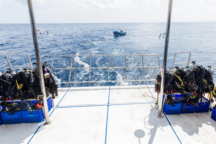 Spacious Dive Deck - MV Pawara
