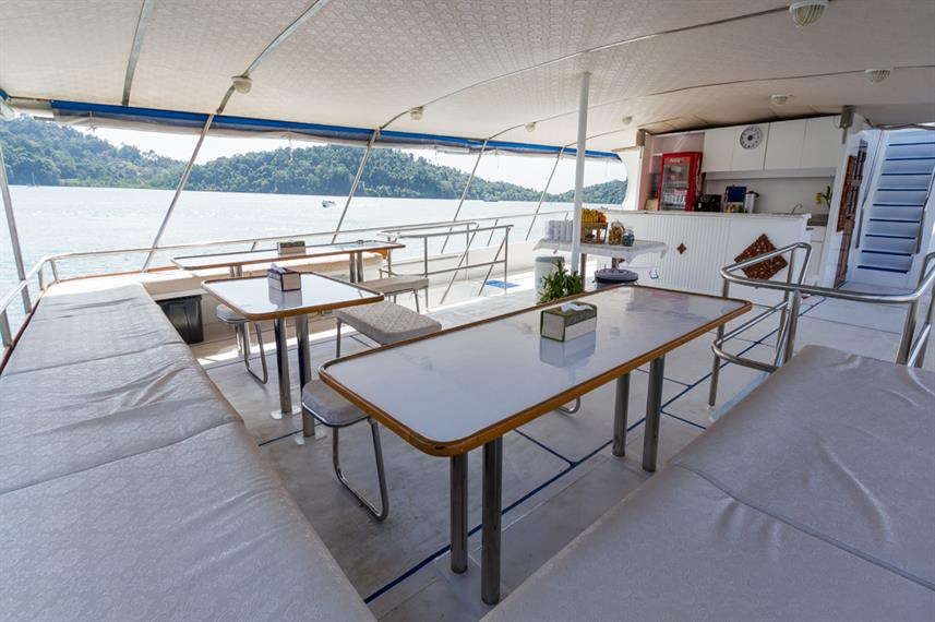 Upper Deck Relaxation - MV Pawara