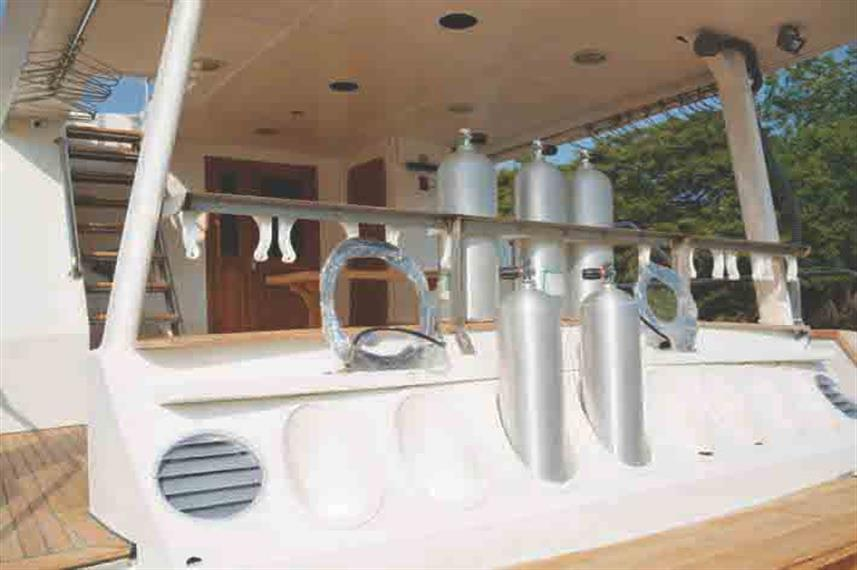 Dive Deck - Nortada Liveaboard