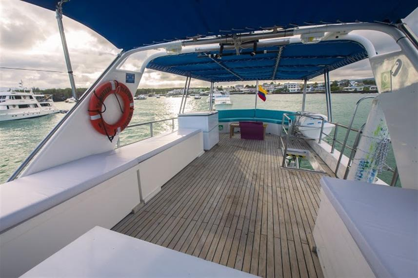 Top Deck - Nortada Liveaboard