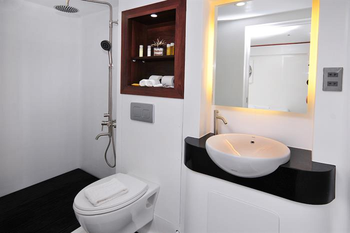 All cabins are en-suite - MV Discovery Adventure Philippines