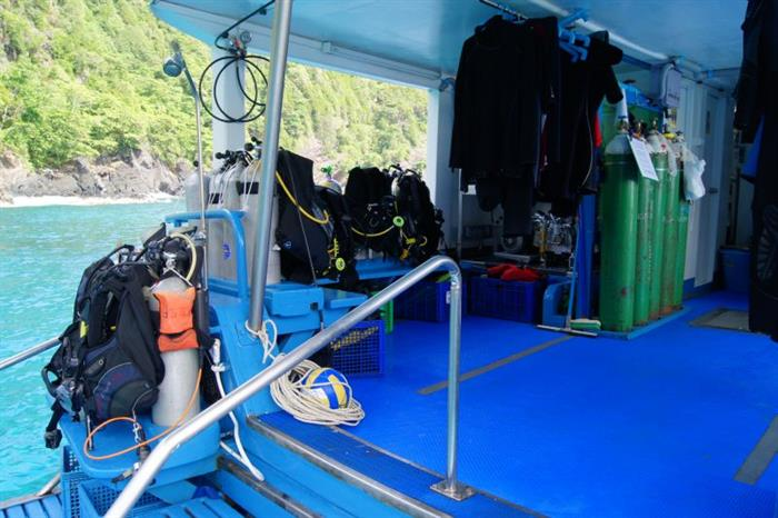 Dive Platform - MV Similan Explorer