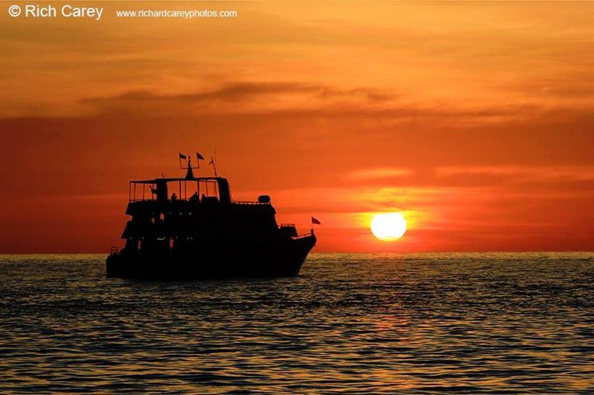 Beautiful Similan Sunsets