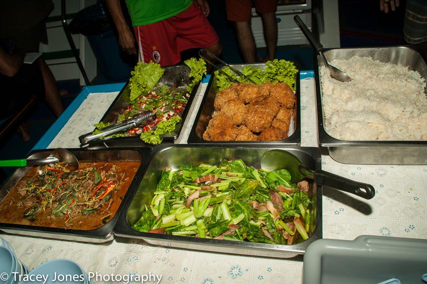 Food on board - Similan Explorer
