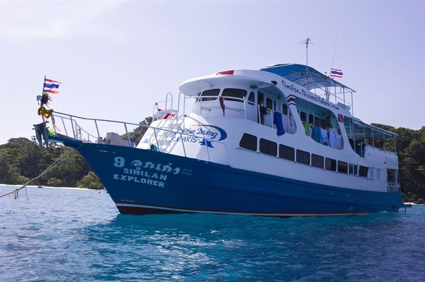 MV Similan Explorer Thailand