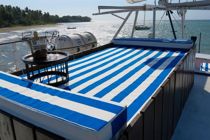 Sun bed - MV Empress II Indonesia
