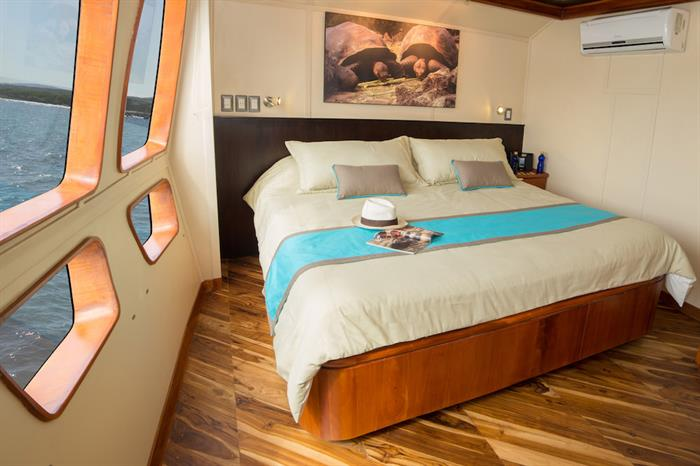 Main Deck Double Cabin - Majestic Galapagos Yacht