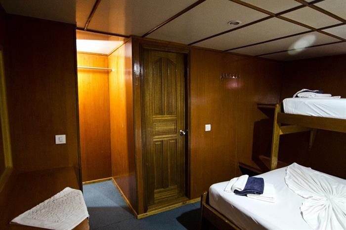 Lower deck Standard cabin - MV Ari Queen