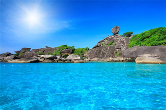 Beach trips to the beautiful Similan Islands Thailand
