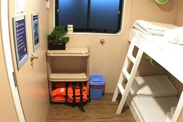 Twin Bunk en-suite Cabin