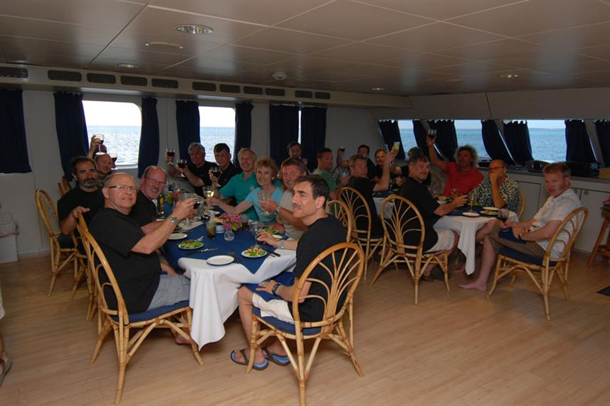 Restaurant - Aqua Cat Liveaboard