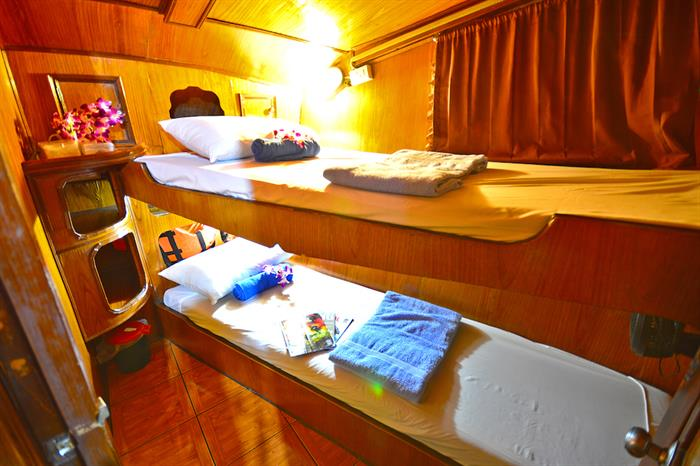 Twin Cabin - Manta Queen 6 Thailand