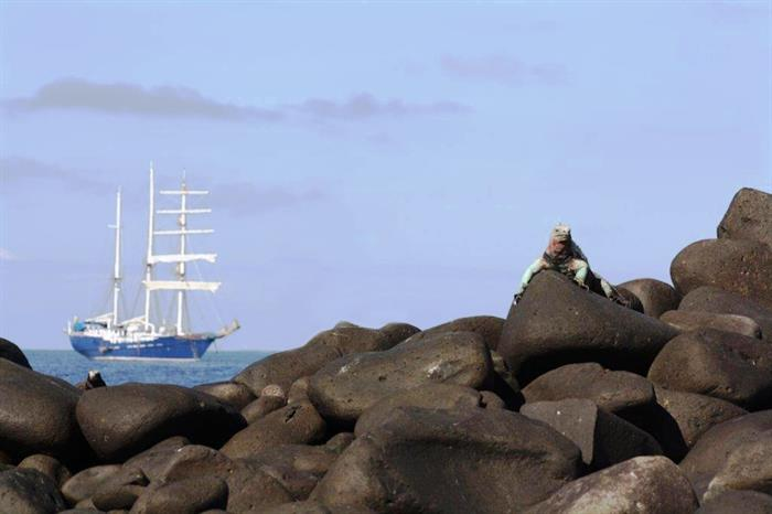 SS Mary Anne in the Galapagos