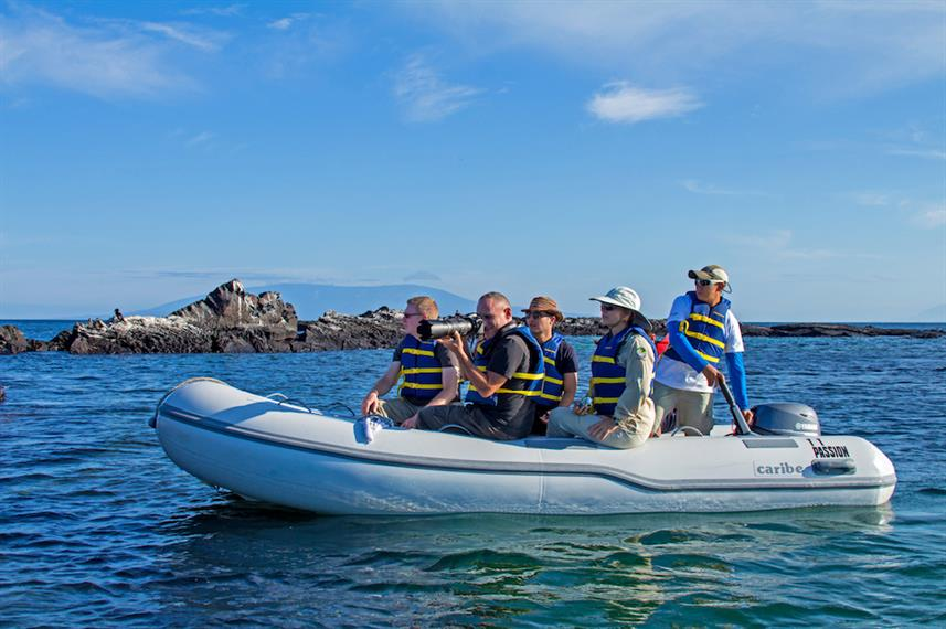 Tender rides - MY Passion Galapagos