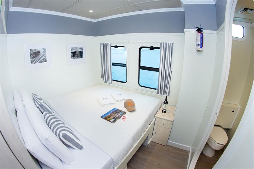 Double Cabin - Archipell I Galapagos