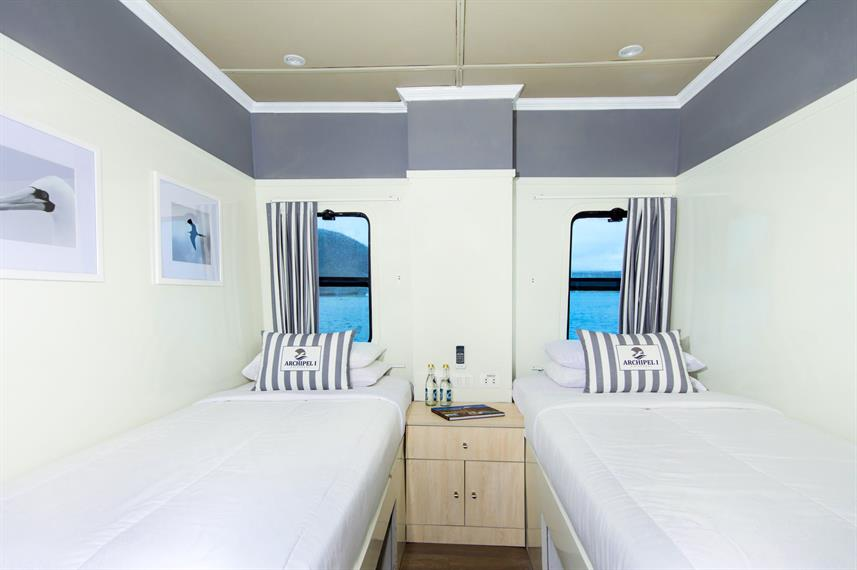 Twin Cabin - Archipell I Galapagos
