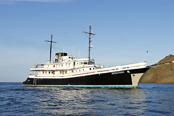MV Evolution Galapagos