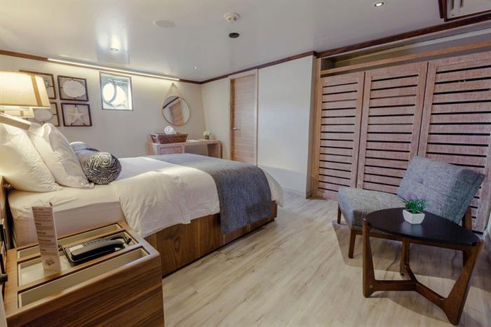 Double Premium Stateroom - MV Evolution Galapagos