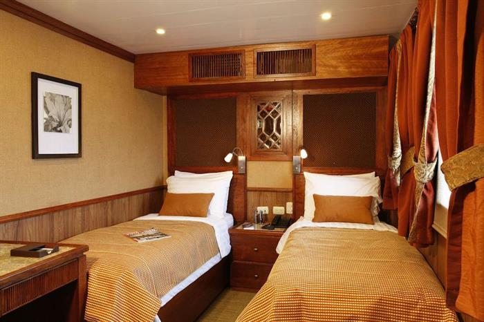 Twin Stateroom - MY Grace Galapagos