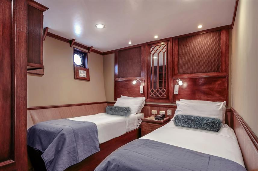 Twin Deluxe Stateroom