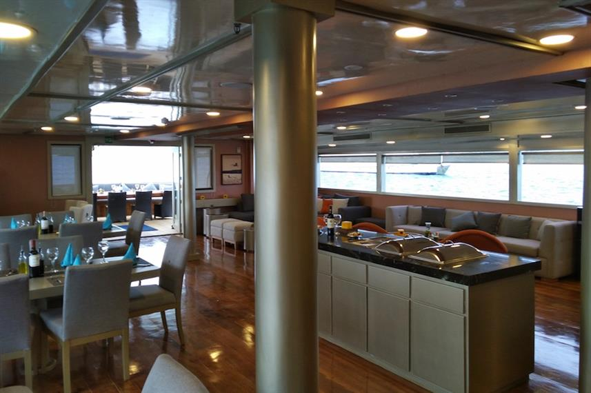 Dining Room - Sea Star Journey