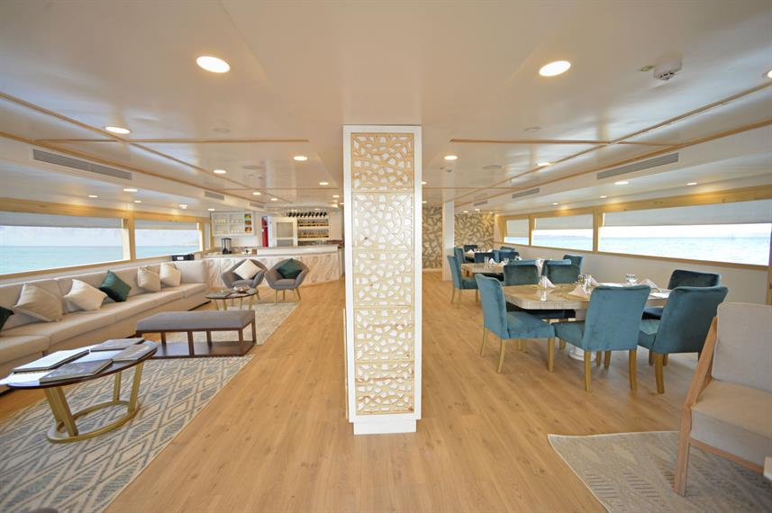 Salon interior - Sea Star Journey