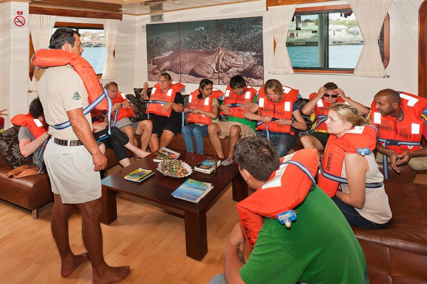 Detailed Safety Briefing - Galapagos Seaman Journey