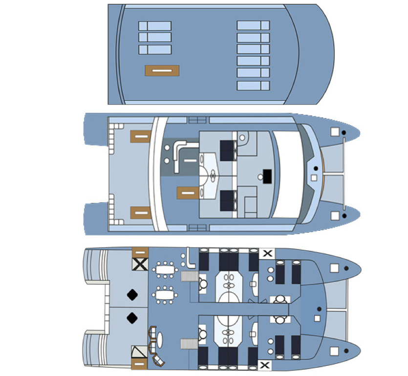 Seaman Journey Deck Plan plan