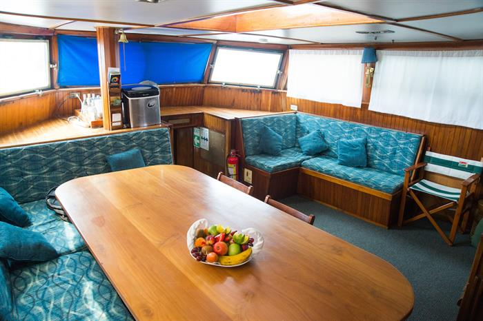 Saloon Area - The Beagle Galapagos