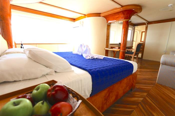 Double Suite - Millennium Yacht Galapagos