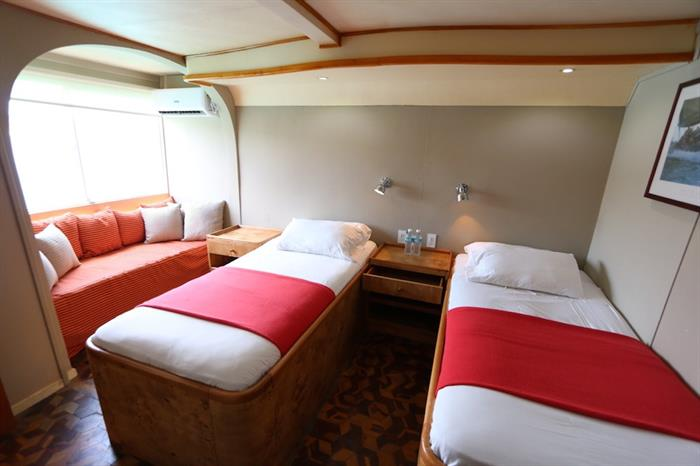 Twin Cabin - Millennium Yacht Galapagos