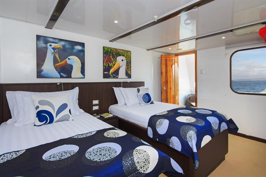 Junior Suite - Natural Paradise Yacht Galapagos