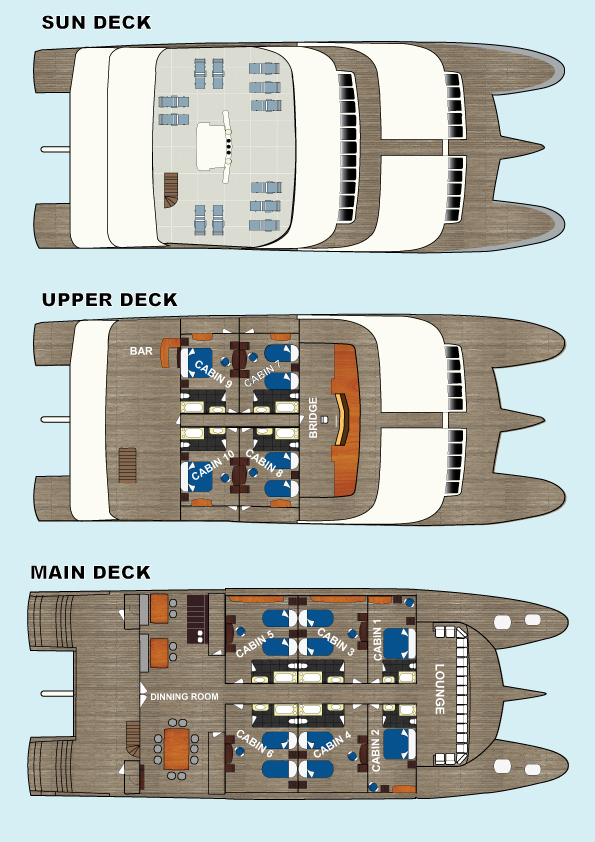 Tip Top II Deck Plan plan
