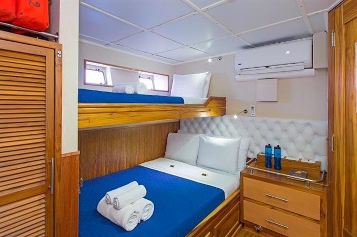 Lower Deck Cabins 1 & 2 - Tip Top III