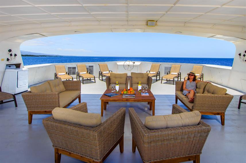 Lounge Externo - Treasure of Galapagos