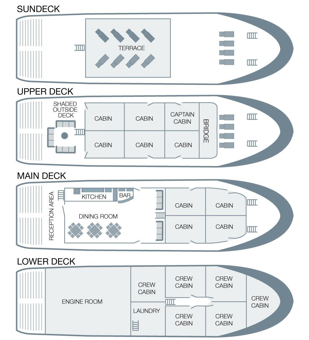 Yolita Deck Plan floorplan