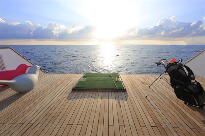 Activities aboard the Azalea Maldives