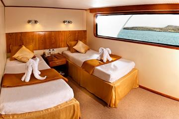 Upper or Main Deck Cabin Galaxy Yacht