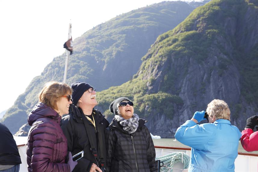 Fun on the Ship with New Friends - Admiralty Dream Alaska